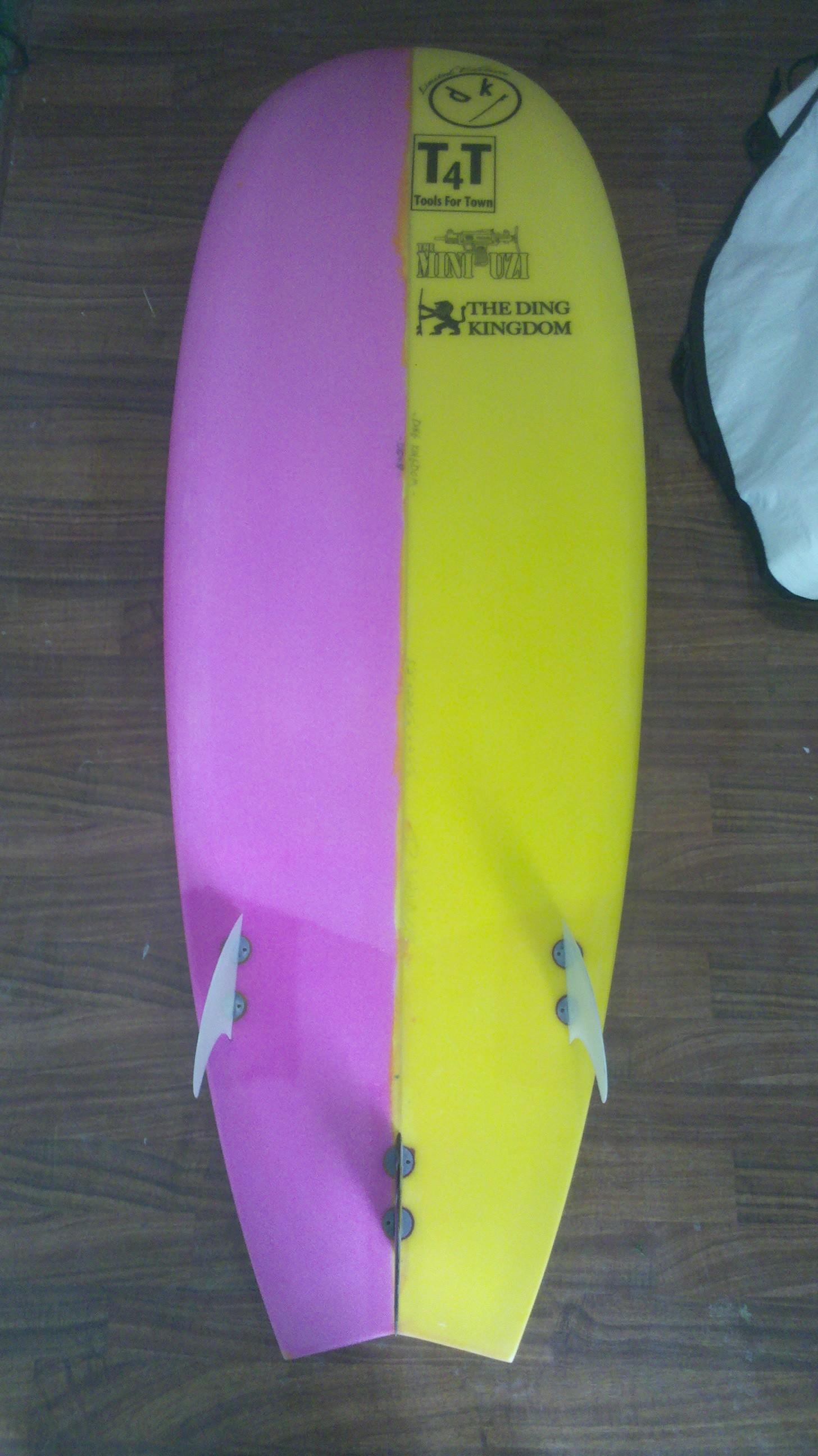 The Ding Kingdom Surfboard Repairs Sales Honolulu Hi
